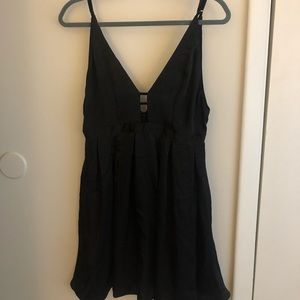 Free People black mini party dress